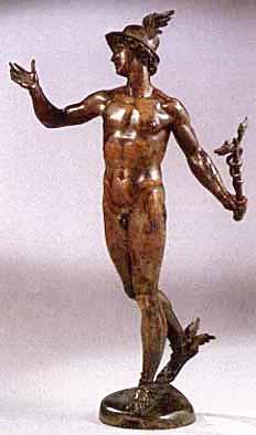 Persée chercha cette île longtemps, jusqu à ce que Hermès lui apparut sous  la forme d un jeune homme portant des sandales et un casque ailés, ... 984f98be155