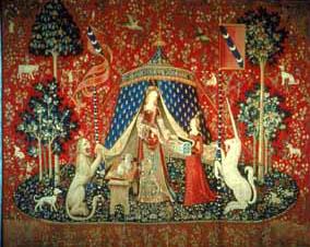 Dancerie marie de bourgogne 2008 la dame a la licorne - La tapisserie de la dame a la licorne ...