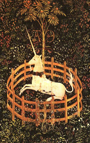 Mythe de la dame la licorne bonheur de lire - La tapisserie de la dame a la licorne ...